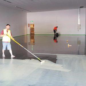 Floor Preparation, Levelling & Moisture Control